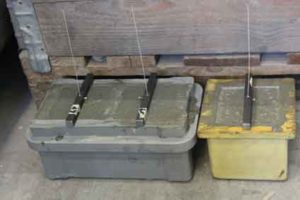 Confezionamento di campioni per eseguire prove di pull-out su fibre polimeriche