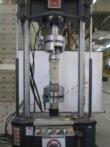 Valutazione del modulo elastico dei cilindri di calcestruzzo